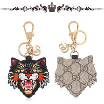 ◆GUCCI◆ANGRY CAT PATCH★キーチェーン★