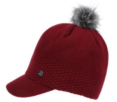 (ザノースフェイス) W KNIT LOOSE CAP DARK RED NE3CI54B