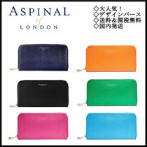 Aspinal of London(アスピナルオブロンドン) 長財布 Aspinal of London◆Continental Zip Around Wallet◆送&関無料