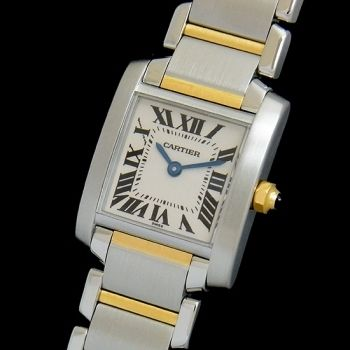 Cartier(カルティエ) Tank Francaise 18kt Yellow Gold Ladies
