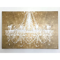 Oliver Gal 特大 114x76cm Dramatic Entrance Gold キャンバス