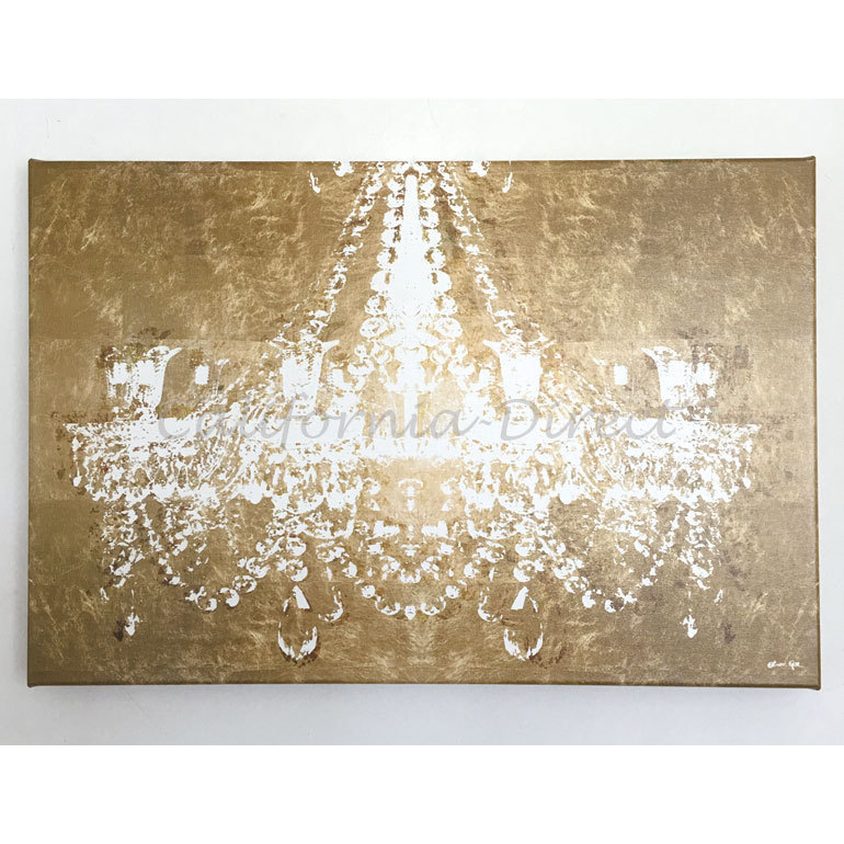 Oliver Gal 小さい 38x25cm Dramatic Entrance Gold キャンバス
