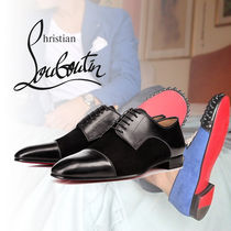 "Christian Louboutin ""Top Daviol"" スエード&レザー シューズ"