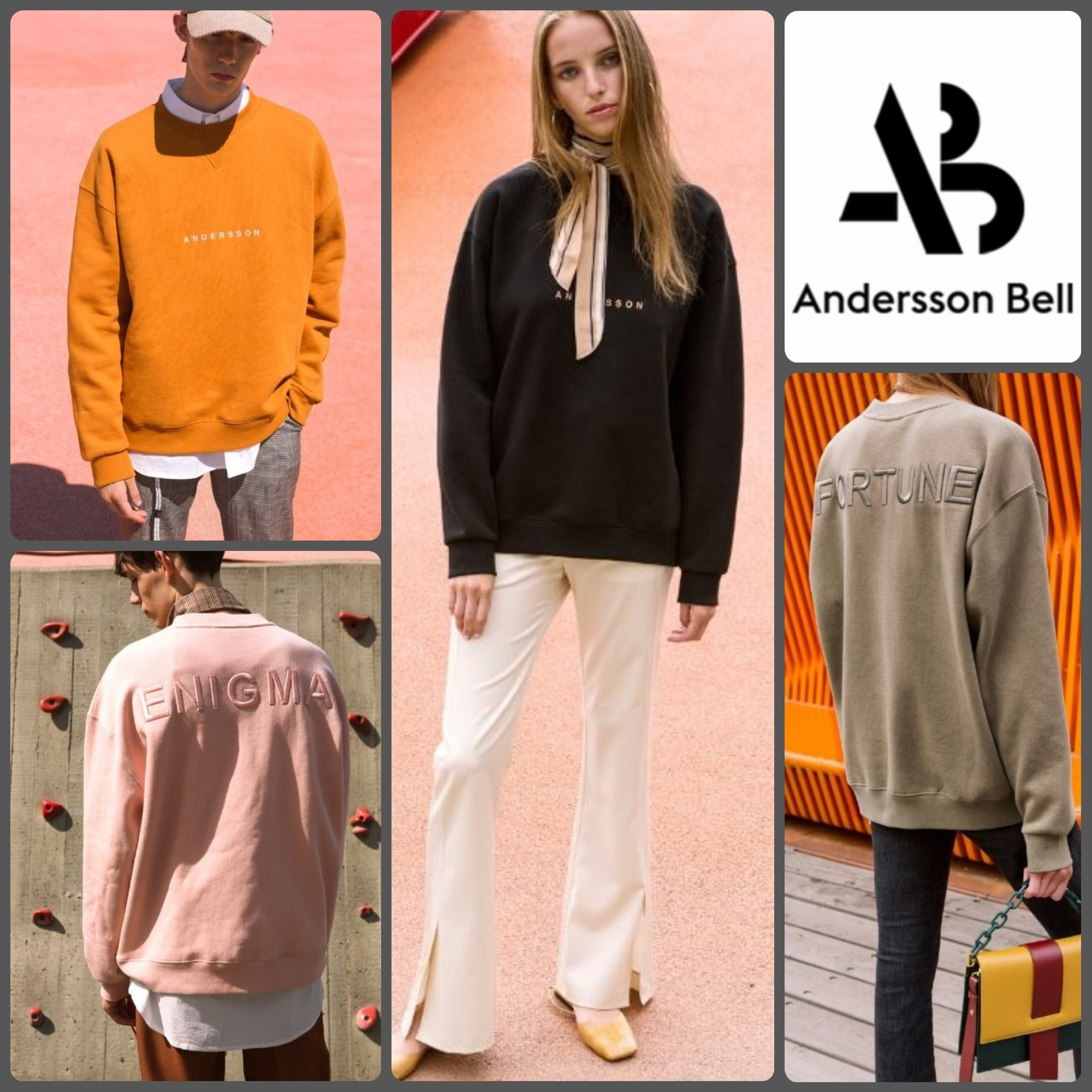 【ANDERSSON BELL】正規品★SIGNATURE スウェット 4色/追跡付