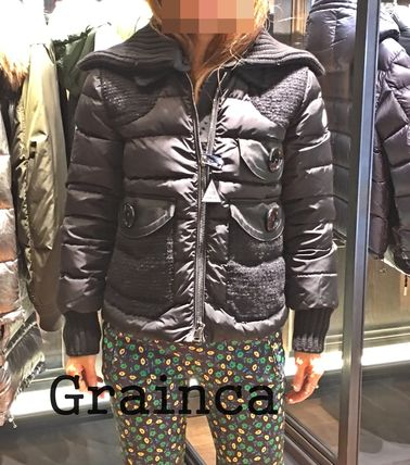 MONCLER★17/18AW ツイード&ナイロン 異素材MIX HOSTA★関税込み