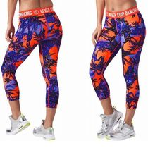 ☆ZUMBA・ズンバ☆Bonfire Babe Capri Leggings CC