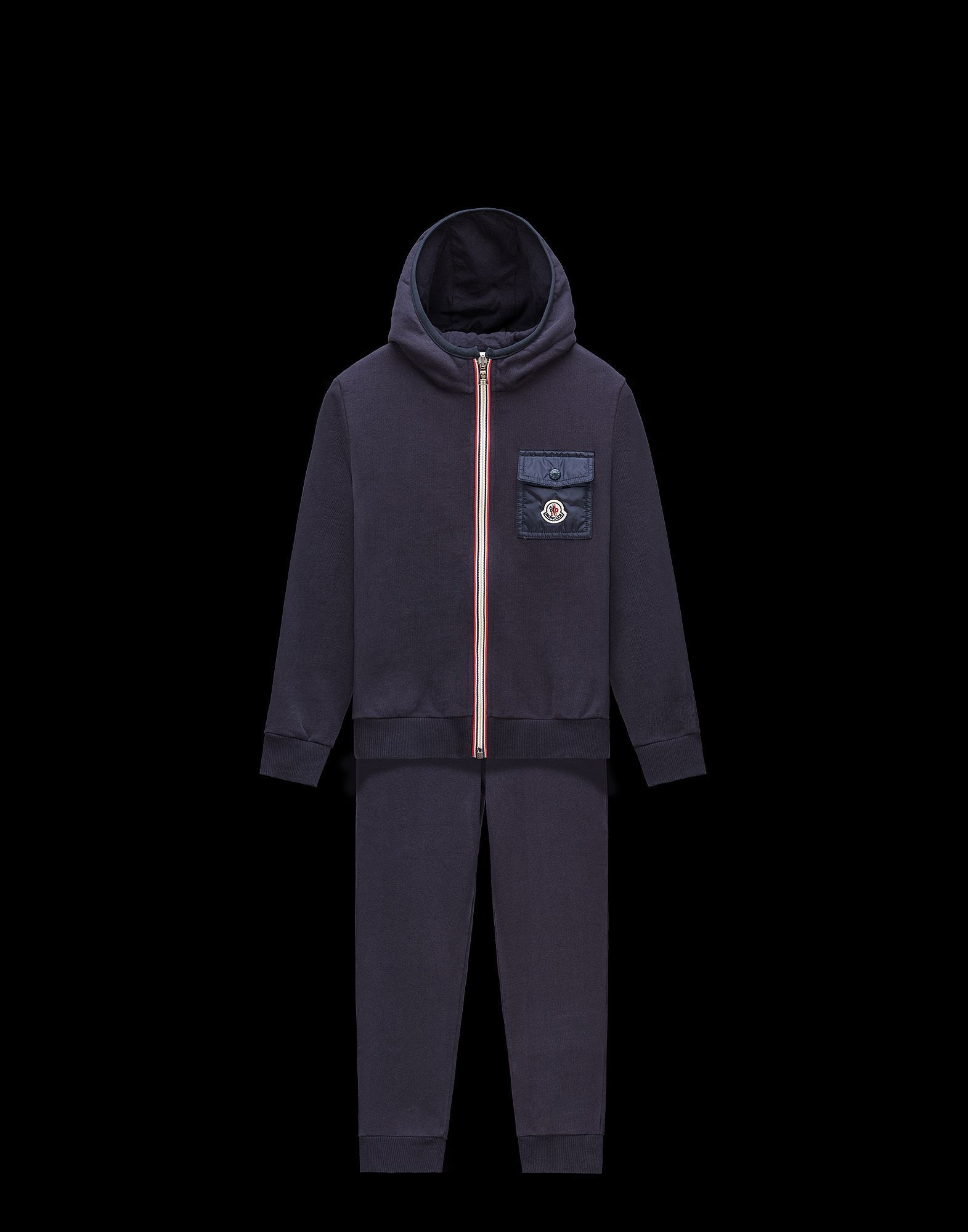 MONCLER2017/18秋冬新作ジュニアパーカー&パンツセット 12A/14A