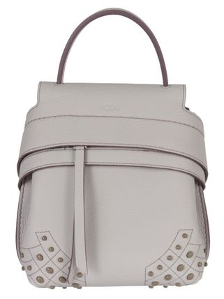 TOD'S MINI TOD'S WAVE バックパック グレー