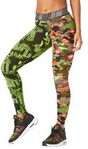新作♪Zumba ズンバSwitch It Up Leggings-Get in Lime