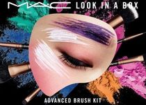 MAC☆ 限定!Look in a Box Advanced ポーチ付きブラシセット