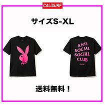 選べるサイズS-XL★ANTISOCIAL SOCIALCLUB x PLAY BOY TEE