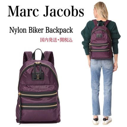 【MARC JACOBS】リュック★Nylon Biker Backpack★国内発関税込