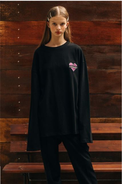 beyond closetのBASIC NOMANTIC LOGO LONG SLEEVE T-SHIRTS