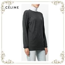 【17AW】★CELINE★long line knitted top with stitch detail
