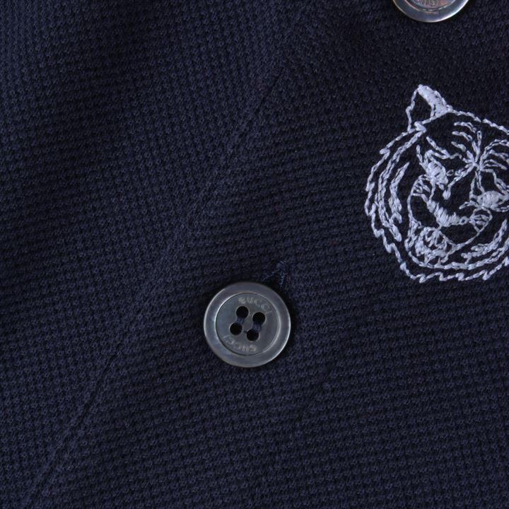 Gucci★GUCCI PANTHER EMBROIDERED POLO SHIRT 刺繍ポロシャツ