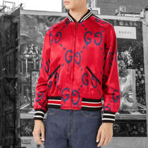 Gucci★GUCCI GHOST PROJECT BOMBER JACKET ボンバージャケット