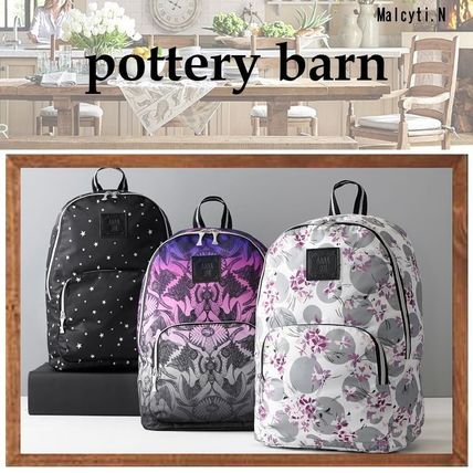 【Pottery Barn】Anna Sui 防水 ナイロン製バックパック 3種類