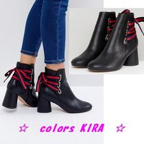 ASOS RIDA Lace Back Ankle Boots♪