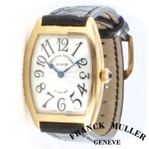 18K Yellow Gold ☆Franck Muller☆ Cintree Curvex ウォッチ♪