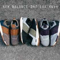 New Balance 247 Luxe 秋冬仕様 ニット ヌバック