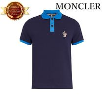 MONCLER モンクレールグルノーブルContrast polo shirt