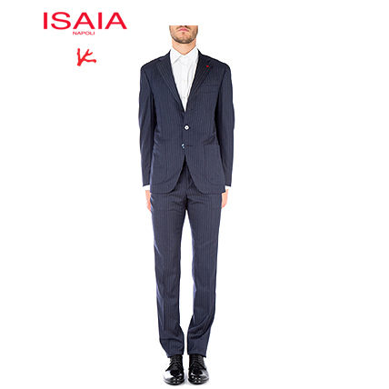 ISAIA Embroidered wool suit 0072158541C_800 【関税送料込】