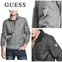 Guess☆BOMBER フライトジャケット ロゴ