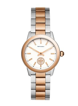 Tory Burch COLLINS WATCH, TWO-TONE ROSE GOLD 32 MM