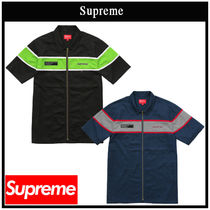 国内即発!!  SUPREME シュプリーム S/S ZIP UP WORK SHIRTS