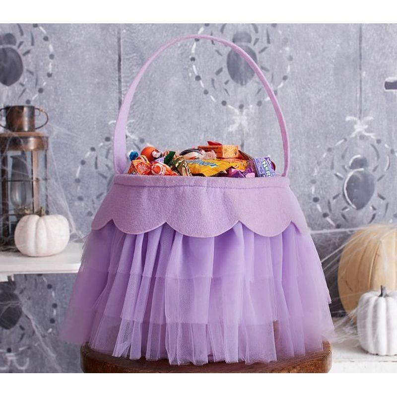 【Pottery Barnポッタリーバーン】 Lavender Tulle Treat Bag