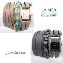 ★新作セール♪★LA MER COLLECTIONS WANDERLUSTウオッチ★