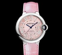 Cartier(カルティエ) Ballon Bleu Automatic Pink Dial Ladies