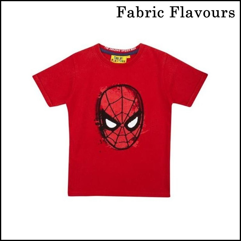 【Fabric Flavours】 Boys Spider-man Face Vintage