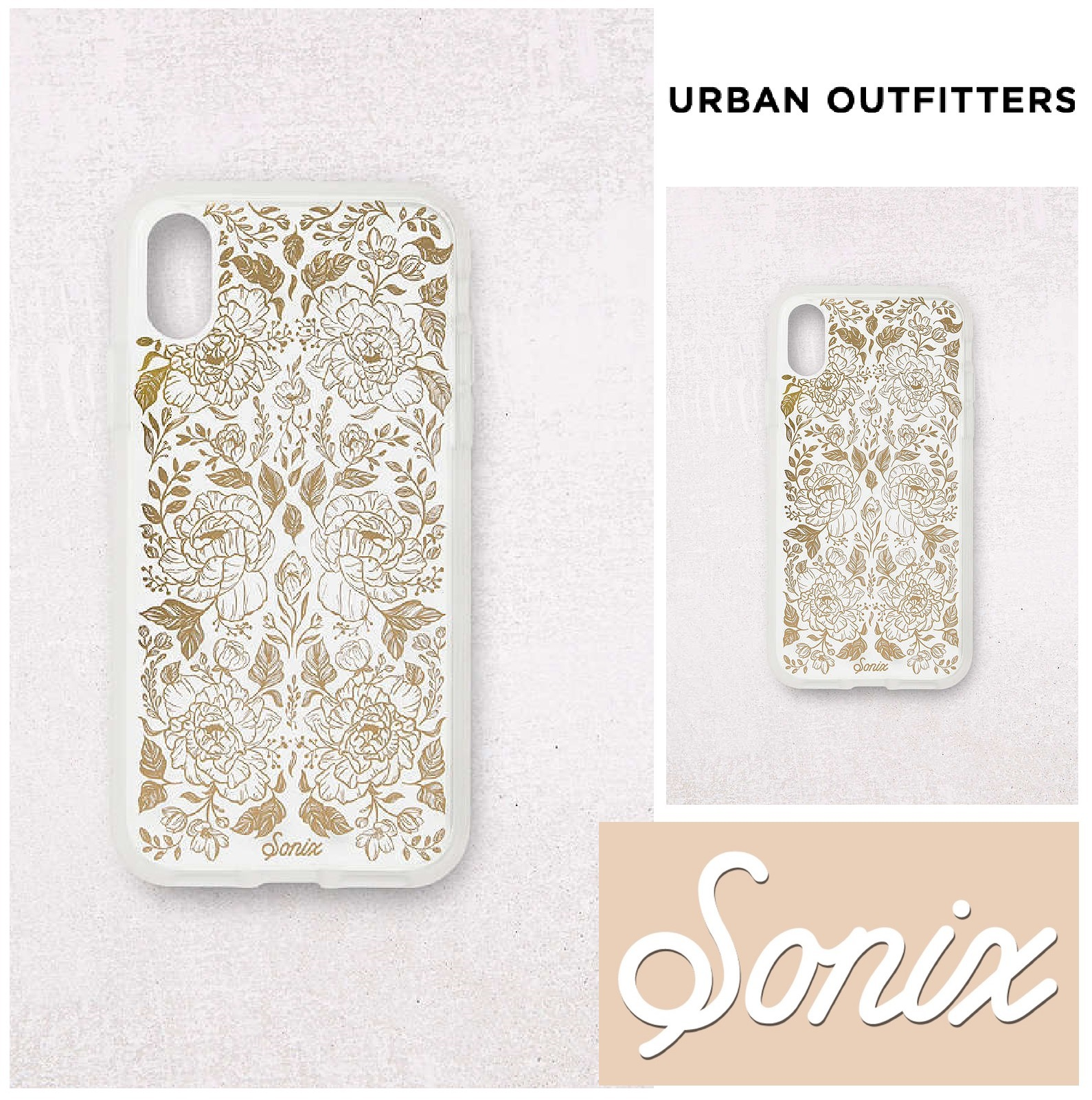 Urban Outfitters☆Sonix Secret Garden iPhone X Case☆
