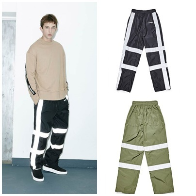 日本未入荷DBYDGNAKのScotch Banding Wide Pants 全2色