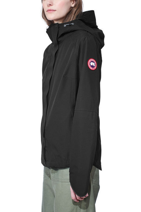 【17aw NEW】 CANADA GOOSE_women/Alderwood Shell/パーカーBK