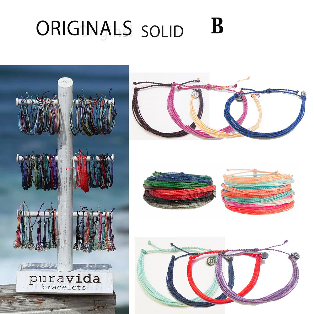即納Pura Vida コードブレスOriginals Collection SOLID  B
