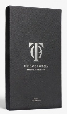THE CASE FACTORY★ IPHONE 7/8 PLUS CRUSHED METALLIC SILVER