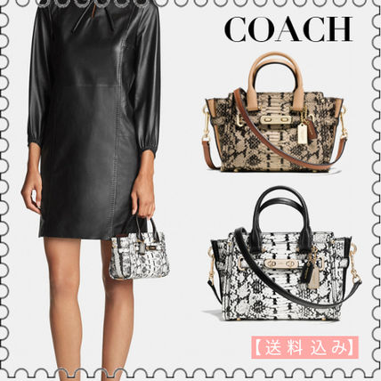 【COACH】Colorblock Exotic Leather Cossbody 37187★(正規)