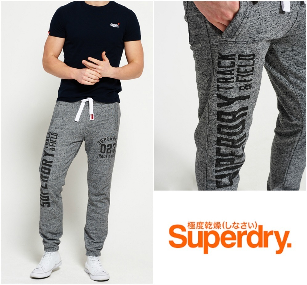 国内発送!【Superdry】Trackster Graphic Joggers ジョガーパン