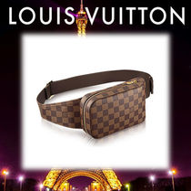 17AW◆LOUIS VUITTON◆ジェロニモス ダミエ・キャンバス
