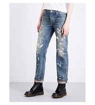 Re-Edition Painter relaxed straight jeans 復刻ペイントデニム