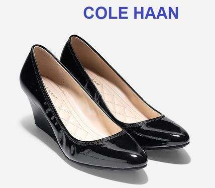 Cole Haan Emory Luxe Wedge (65mm) / Black Patent