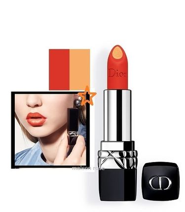 DIOR *ROUGE DIOR DOUBLE ROUGE*#534,TEMPTING TANGERINE