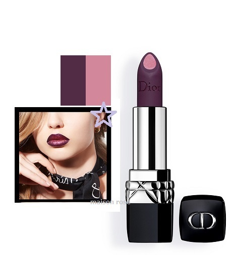 DIOR *ROUGE DIOR DOUBLE ROUGE*#992,POISON PURPLE