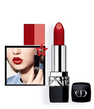 DIOR *ROUGE DIOR DOUBLE ROUGE*#999,MATTE METAL