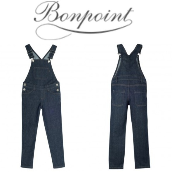 17AW【Bonpoint】 Frisbee サロペット 10~12A (jean)