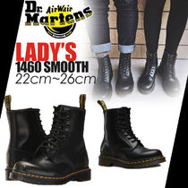 送料無料! ★☆Dr. Martens★ 1460 SMOOTH 8-EYE BOOT ブラック