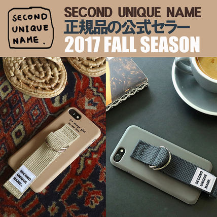 SECOND UNIQUE NAME iPhone・スマホケース 【NEW】「SECOND UNIQUE NAME」 2017 FALL SEASON 正規品
