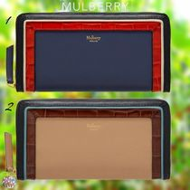 Mulberry☆8 Card Zip Around Wallet ラウンドジップ 長財布